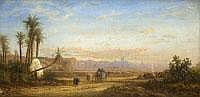 BERNHARD FIEDLER 1816 Berlin - 1904 Triest NORTH