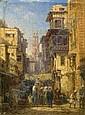 BERNHARD FIEDLER 1816 Berlin - 1904 Triest A BUSY, Bernhard Fiedler, Click for value