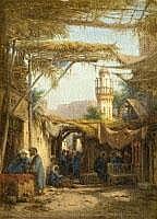BERNHARD FIEDLER 1816 Berlin - 1904 Triest A