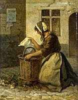 CHARLES BILLOIN 1813 Ixelles - 1869 Ixelles LA