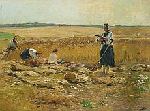 Hugo Mühlig, Peasants at the Hayharvest