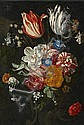 FLOWER STILL LIFE, Hieronymus (1625) Galle, Click for value