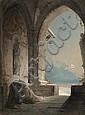 MONK PRAYING, Caspar Joh. Nepomuk Scheuren, Click for value