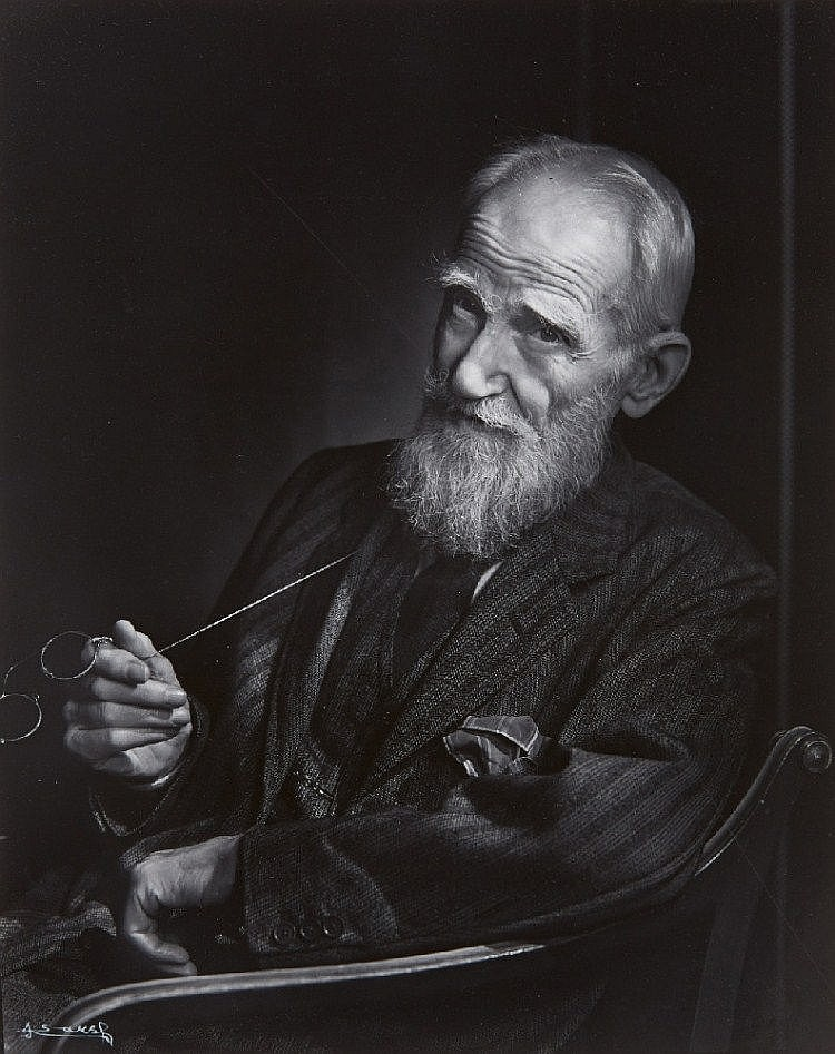 Yousuf Karsh, George Bernard Shaw, 1943