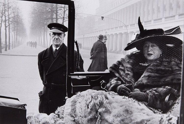 Inge Morath, Miss Eveleigh Nash, London, 1953
