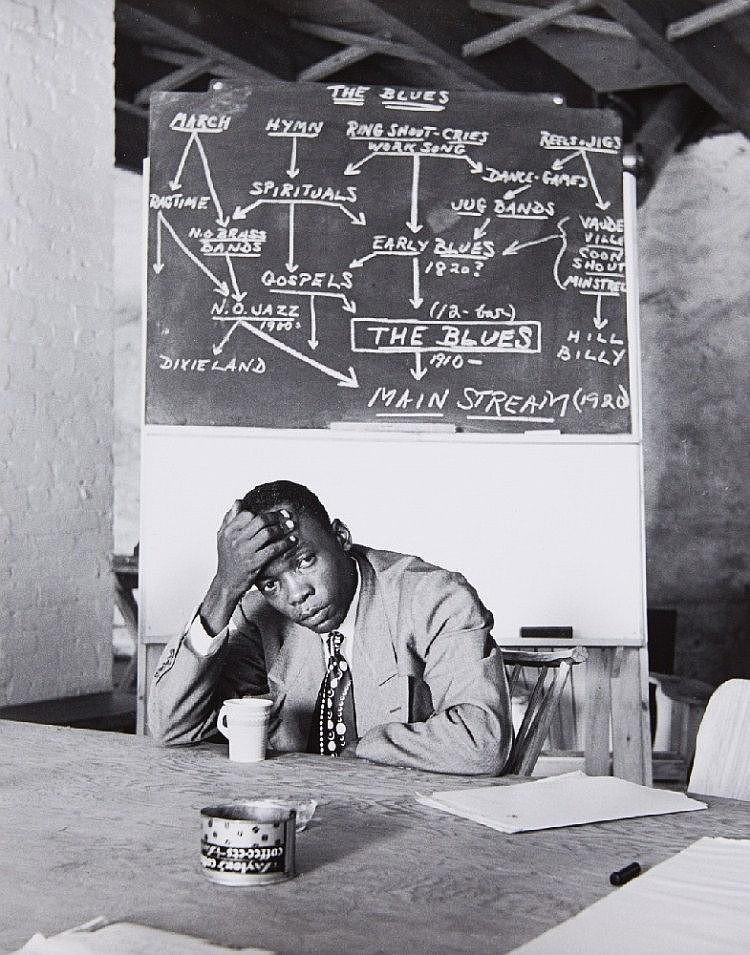 Clemens Kalischer, John Lee Hooker, Stockbridge, c. 1950