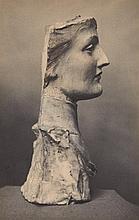Fernand Khnopff, Masque de jeune Anglaise, 1891