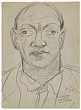 Max Beckmann, Portrait Curt Valentin, Circa 1946/1947