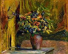 Édouard Vuillard, Pieds-d'alouette et géraniums, Circa 1906