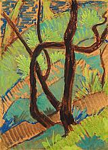 Otto Mueller, Waldlandschaft, Circa 1926
