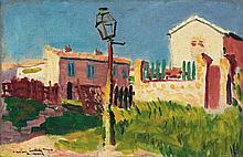 Albert Marquet, Le réverbère, Arcueil, 1899