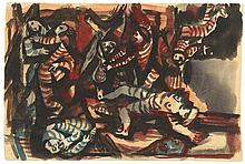 Eduard Bargheer, Der Krieg 2, 1944
