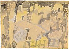 Eduard Bargheer, Südliche Stadt, 1965