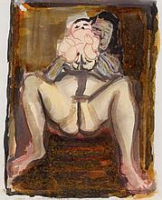 Marlene Dumas, Moeder + Baba, 1989