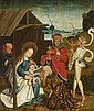 UPPER RHINE-REGION, circa 1490/1500, ADORATION OF THE MAGIDEATH OF THE VIRGIN