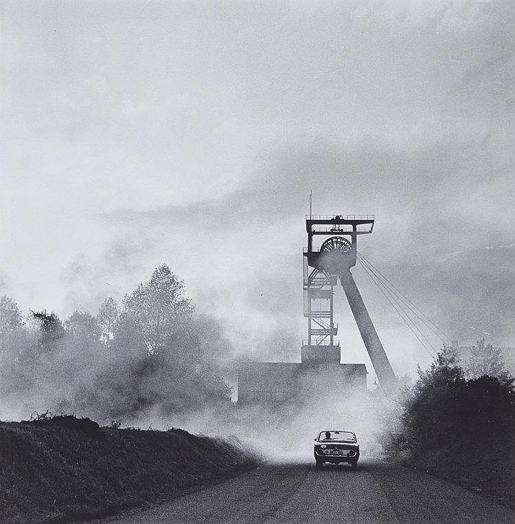 Rudolf Holtappel, Luftschacht Zeche Hugo, Gelsenkirchen, 1963
