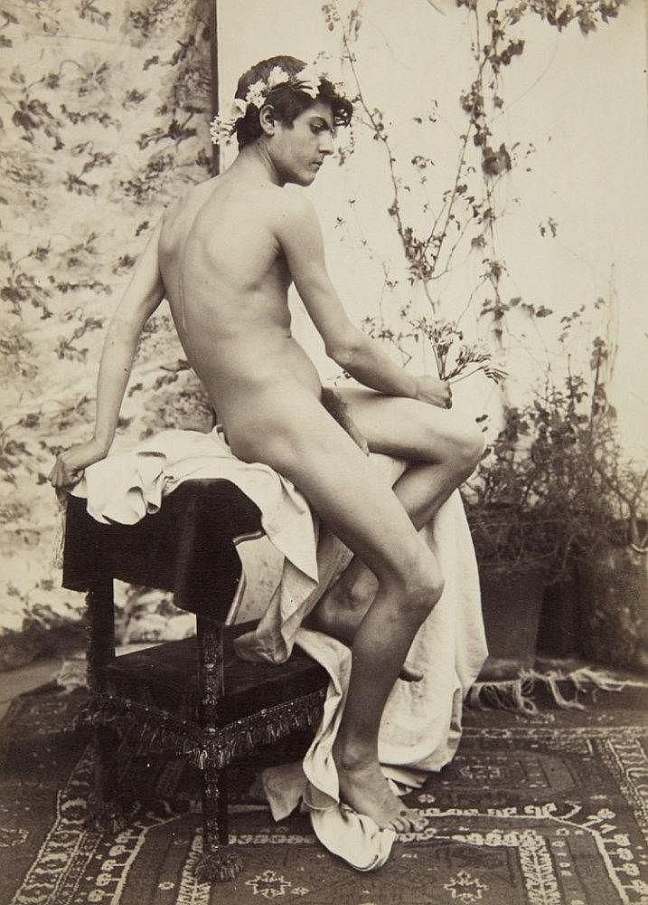 Guglielmo (Wilhelm) Plüschow, Nino Cesarini, Capri, c. 1905