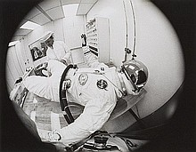 NASA, Model of the Gemini IV extravehicular activity suit,  1965