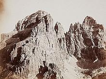 VITTORIO SELLA, Cima e Torre di Brenta,  c. 1900