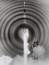 NASA,  Atlas/Agena liftoff,   1966