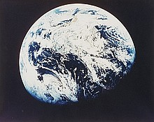 NASA, The first image taken by humans of the whole Earth, Apollo 8,  1968