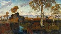 OTTO MODERSOHN Soest 1865 - 1943 Rotenburg/Wümme
