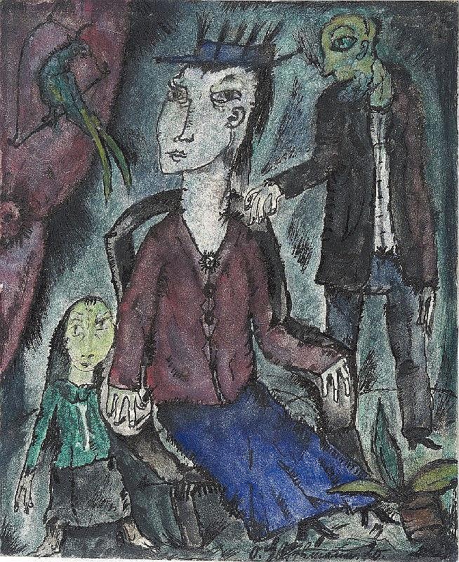 OTTO GLEICHMANN, Kleine Familie (Small Family)