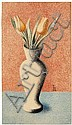HEINRICH HOERLE, Vase mit Tulpen (Vase with Tulips), Heinrich Hörle, Click for value