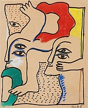 HORST ANTES, Frühlings anfang, 1964