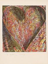 JIM DINE, The Heart of Bam, 1996