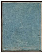 KARL FRED DAHMEN, Furchenbild-Blau I, 1978