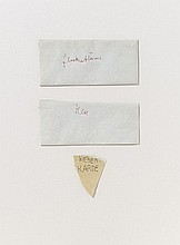 JOSEPH BEUYS, Untitled (Glockenblume, Klee, Weberkarde), 1958