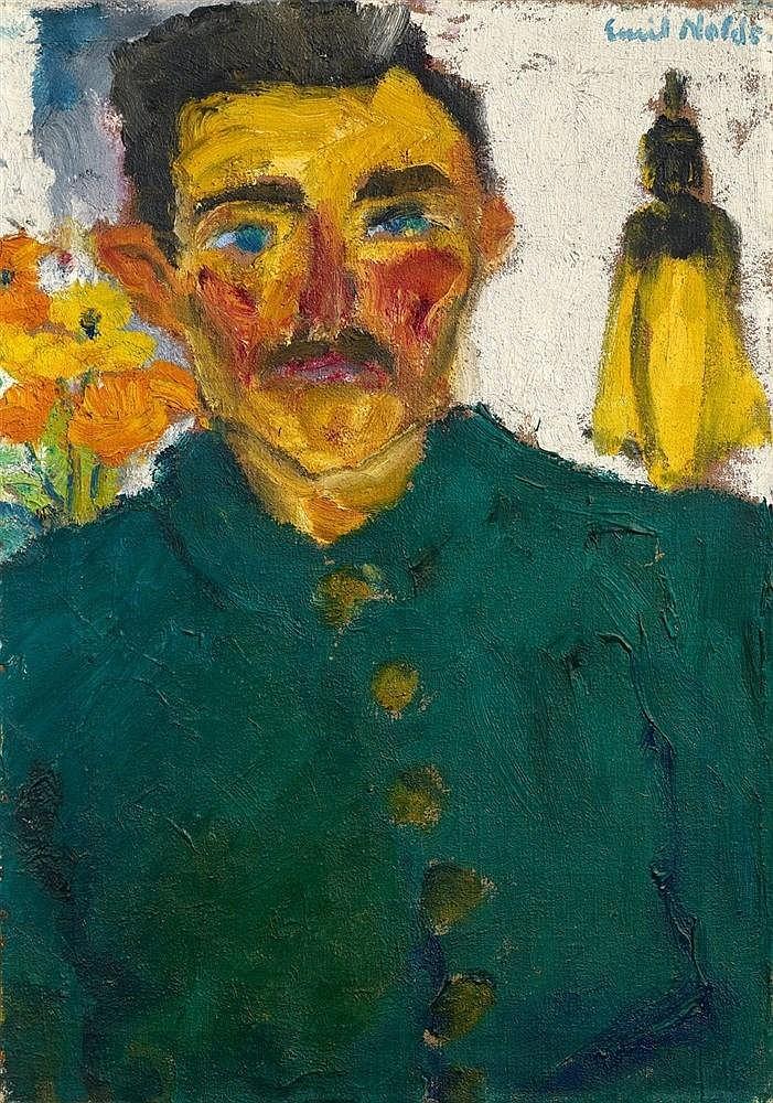 Emil Nolde, Der Jäger, 1918