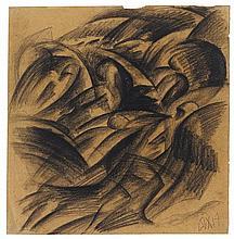 Otto Dix, Badende Soldaten, 1917