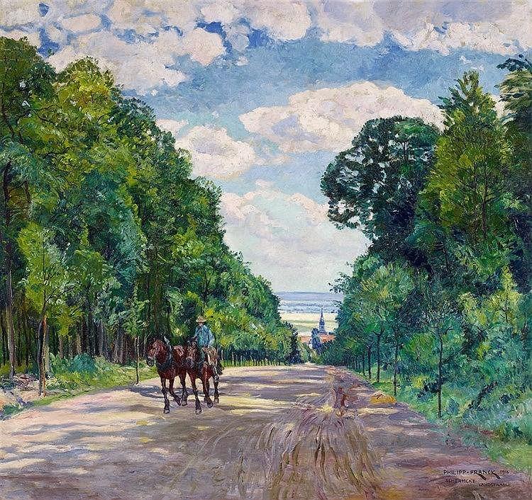 Philipp Franck, Schermcke Landstraße, 1918
