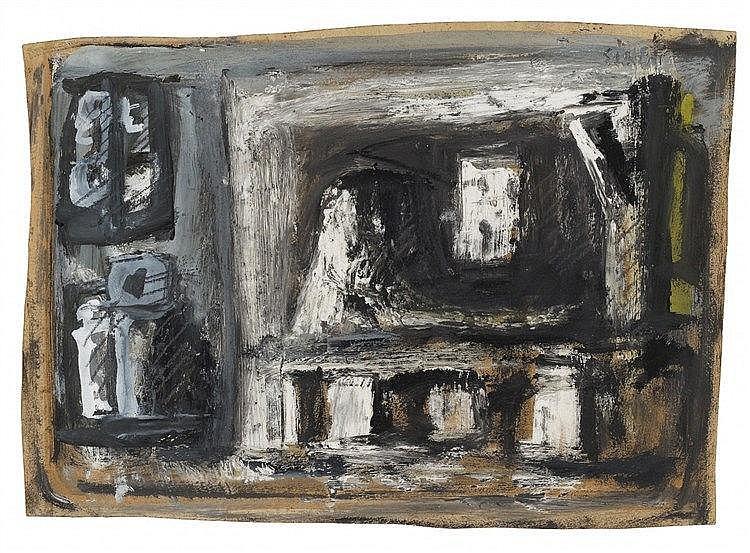 Mario Sironi, Composizione, Circa 1952