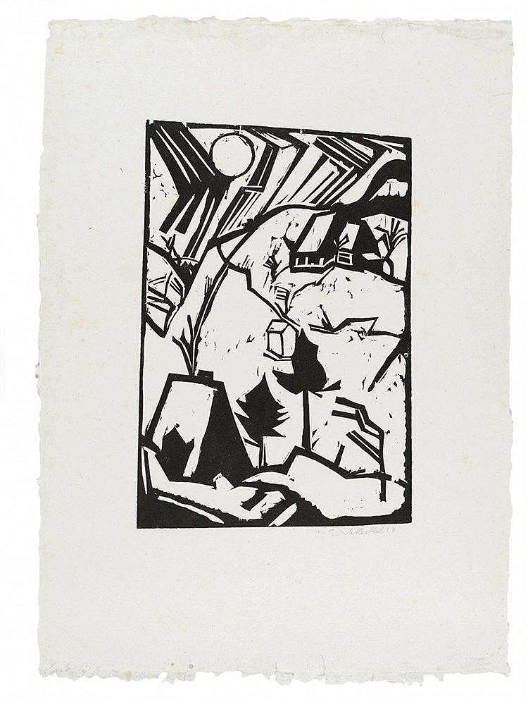 Erich Heckel, Schneetreiben, 1914