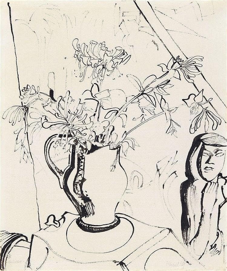 Erich Heckel, Geissblatt, 1929