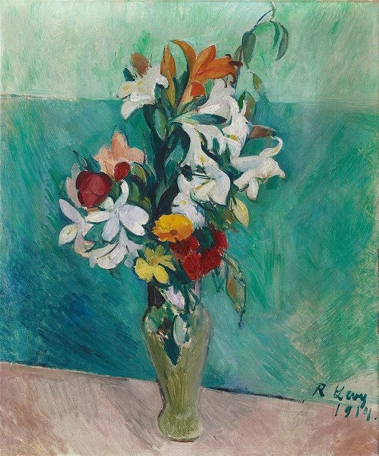 Rudolf Levy, Orchideen, 1914