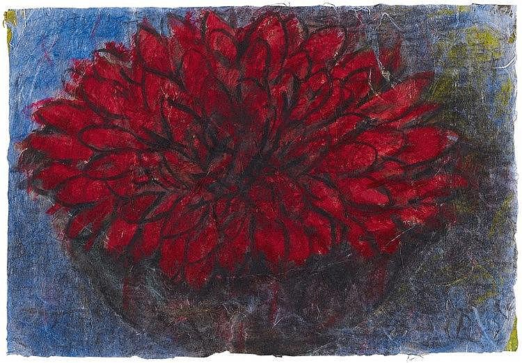 Christian Rohlfs, Rote Blüte,