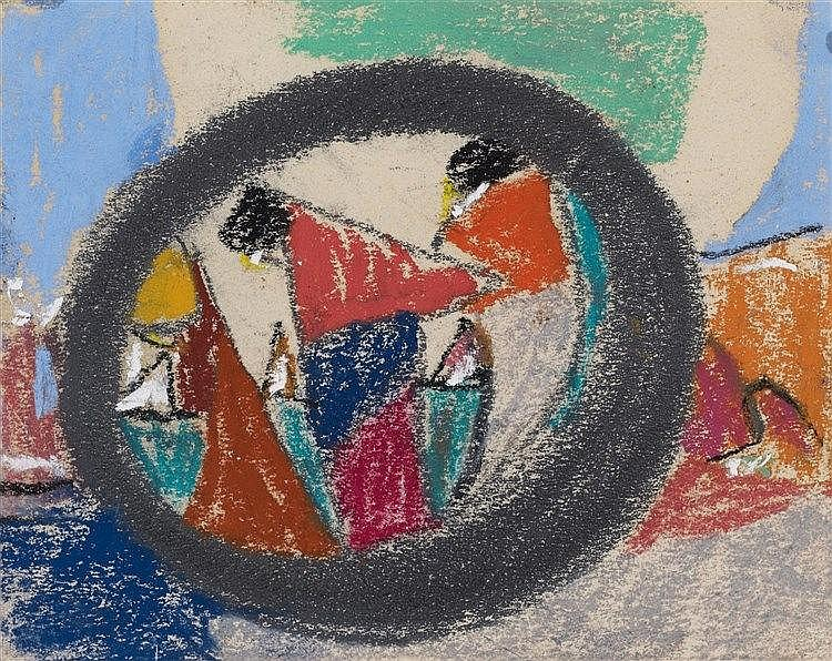 Adolf Hölzel, Untitled (Kreissymbol), After 1930