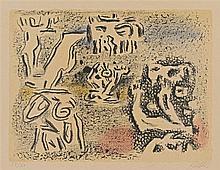 Willi Baumeister, Graphische Figurationen, 1946-1947