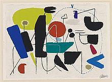 Willi Baumeister, Allegro, 1954