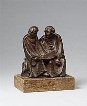 Ernst Barlach, Lesende Mönche II (Die Buchleser), 1921