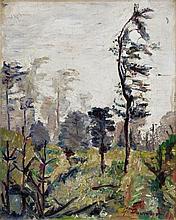 Behrend-Corinth, Waldlandschaft, Circa 1921/1922