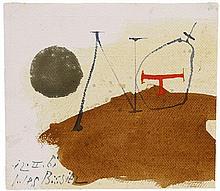 Julius Bissier, 12.II.61, 1961