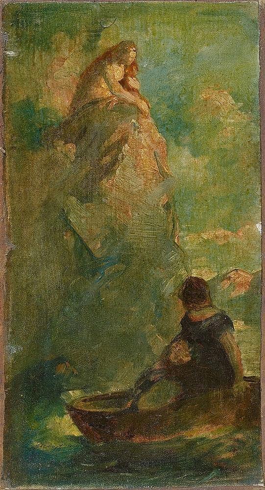 Max Slevogt, Loreley, 1886