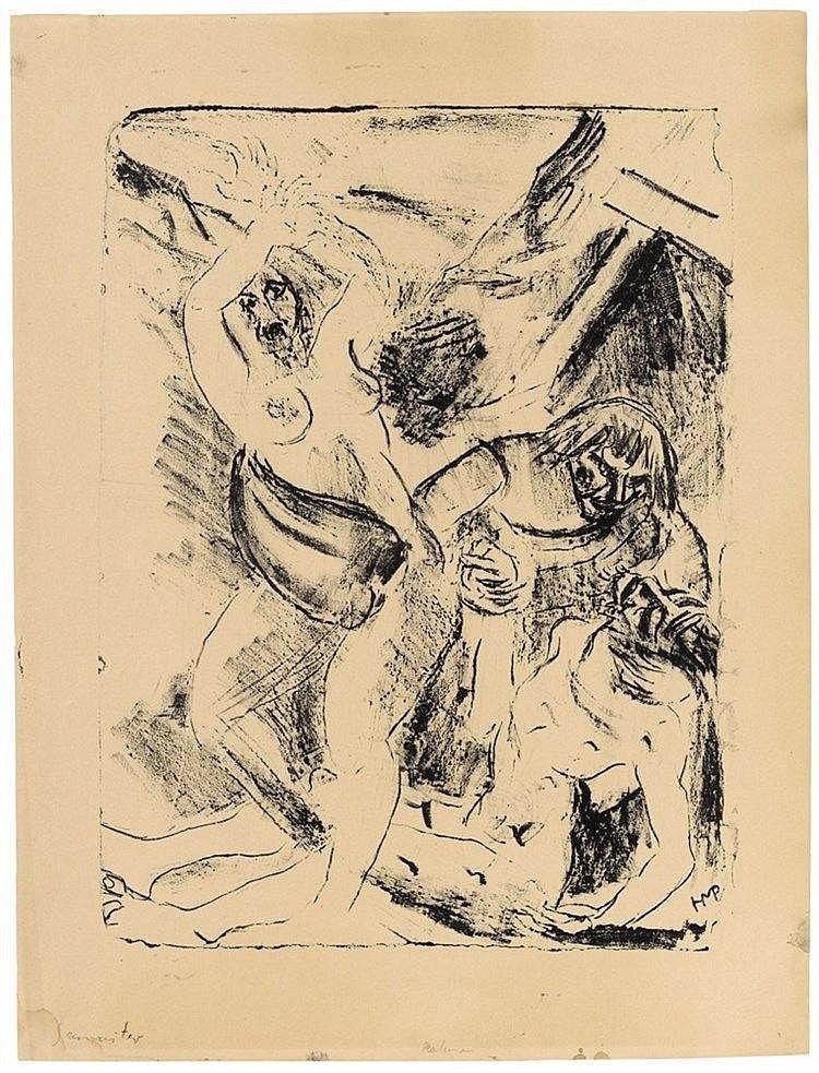 Hermann Max Pechstein, Barmherziger Samariter, 1912