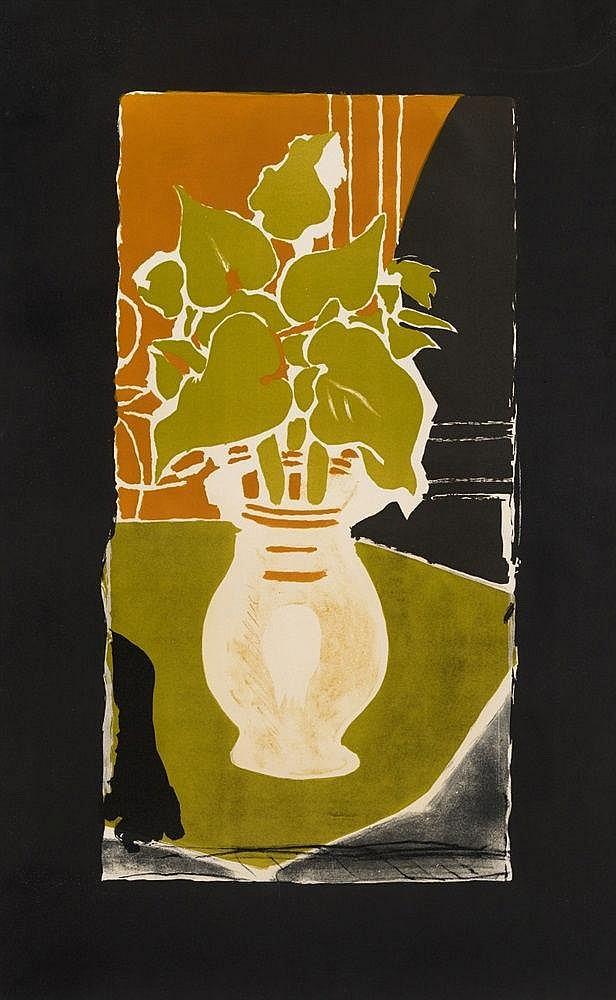 Georges Braque, Feuilles, couleur lumière, 1953/1954