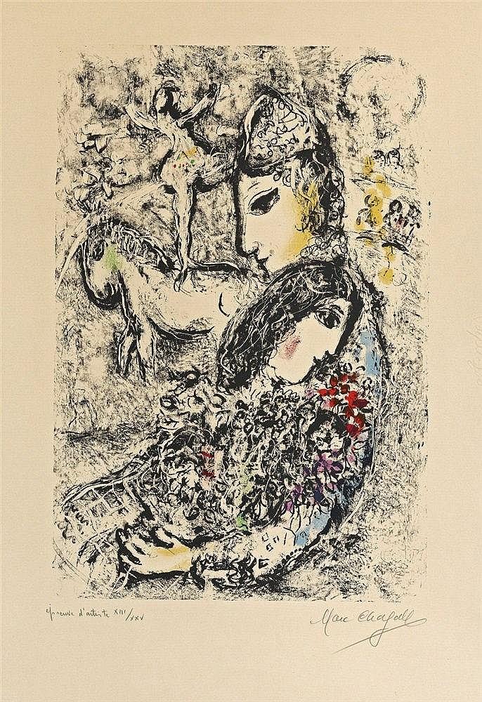 Marc Chagall, Les Enchanteurs, 1969